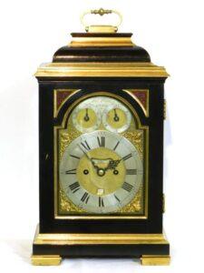 bracket clock Thomas Hughes London