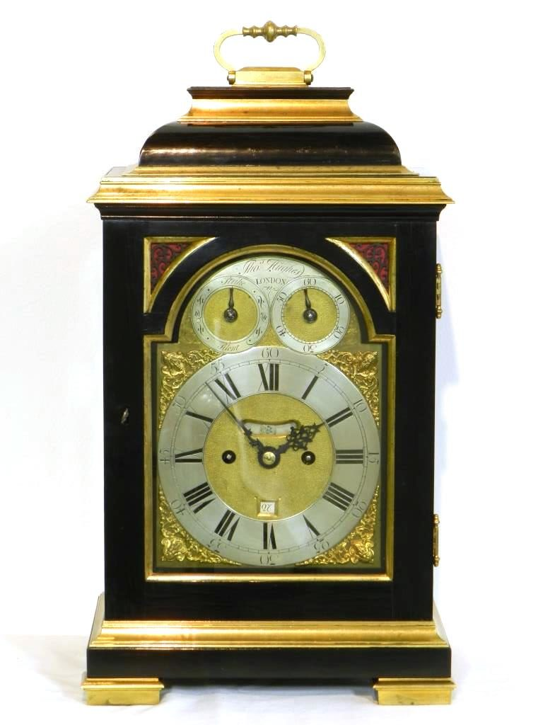 bracket clock Thomas Hughes London