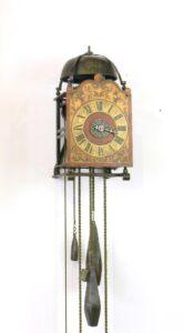 Vroege Franse lantaarnklok